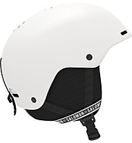 Salomon Brigade+ - Skihelm, White/Black