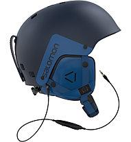 Salomon Brigade Audio - casco freeride/freestyle, Blue