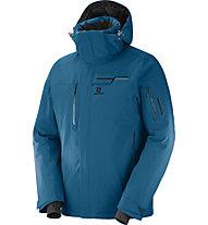Salomon Brillant J - giacca da sci - uomo, Blue