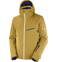 Salomon Brilliant - Skijacke - Herren, Yellow