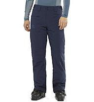 Salomon Brillant - pantaloni da sci - uomo, Blue