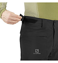 Salomon Brillant - pantaloni da sci - uomo, Black