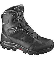 Salomon Chalten GTX Men - scarpa invernale, Black/Asphalt