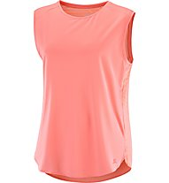 Salomon Comet Breeze Tank W - Lauftop - Damen, Pink
