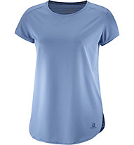 Salomon Comet Breeze - Damen-Trekking-T-. Shirt, Blue