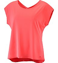 Salomon Comet Flow Tee W - top running - donna, Pink