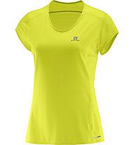 Salomon Comet Plus SS Tee - T-Shirt Damen, Yellow