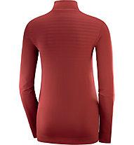 Salomon Comet Seamless - Trailrunningshirt - Damen, Red