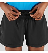 Salomon Comet Short W - Laufhosen kurz - Damen, Black