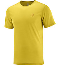 Salomon Cosmic Crew SS - Herren-Running-T-Shirt, Yellow
