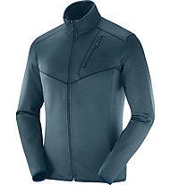Salomon Discovery FZ - giacca in pile trekking - uomo, Blue
