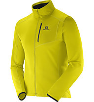 Salomon Discovery FZ M Giacca in pile (2015), Alpha Yellow