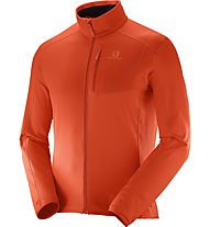 Salomon Discovery FZ M Herren Fleecejacke, Orange