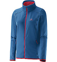Salomon Discovery - giacca in pile trekking - donna, Blue