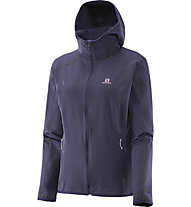 Salomon Discovery - giacca in pile trekking - donna, Nightshade Grey