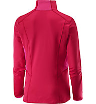 Salomon Discovery TR 1/2 Zip Maglia a maniche lunghe donna, Lotus Pink/Hot Pink