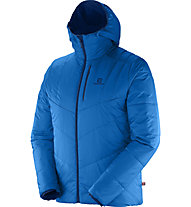 Salomon Drifter Hoodie M Giacca a vento, Midnight Blue