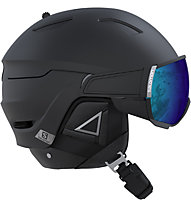 Salomon Driver+ - casco sci alpino, Black