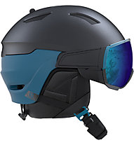 Salomon Driver - Skihelm, Blue/Black