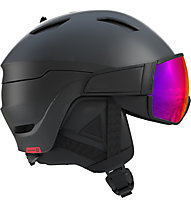 Salomon Driver - Skihelm, Black/Red
