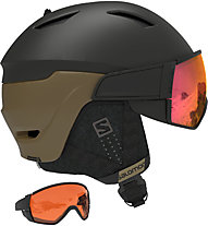 Salomon Driver - Skihelm, Black/Brown
