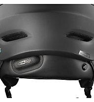 Salomon Driver CA Photochromic - casco sci con visiera - uomo, Black