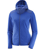 Salomon Elevate FZ Midlayer - Laufjacke mit Kapuze - Damen, Blue