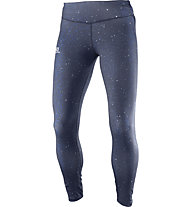 Salomon Elevate Long Tight W - lange Laufhose - Damen, Dark Blue