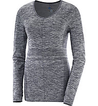 Salomon Elevate Move'on - Langarmshirt Bergsport - Damen, Grey