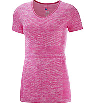 Salomon Elevate Move On - T-Shirt Running - Damen, Pink