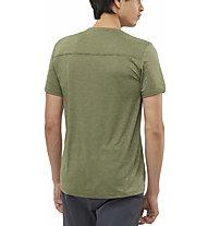 Salomon Explore Pique - Trailrunningshirt - Herren, Green