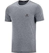 Salomon Explore Pique SS - Herren-T-Shirt, Grey