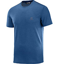 Salomon Explore Pique - T-Shirt Bergsport - Herren, Blue