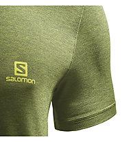 Salomon Explore Pique - T-Shirt Bergsport - Herren, Green