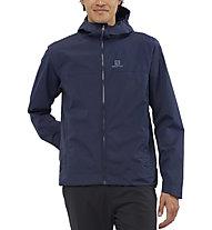 Salomon Explore Waterproof 2L - giacca hardshell - uomo, White