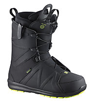 Salomon Faction Snowboardboot, Black/Fluo Yellow