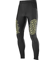 Salomon Fast Wing Long Tight - Laufhose - Herren, Black