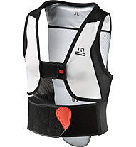 Salomon Flexcell Junior - gilet protettivo, Black/Red