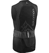 Salomon Flexcell Light Vest - Weste mit Rückenprotektor, Black