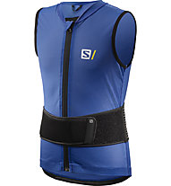Salomon Flexcell Light Vest Junior - gilet protettivo - bambino, Blue