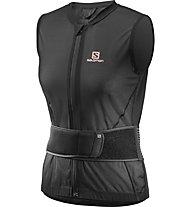 Salomon Flexcell Light Vest Women - gilet protettivo - donna, Black