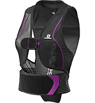Salomon Flexcell Women - gilet protettivo, Black/Purple