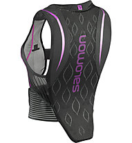 Salomon Flexcell W - Protektorenweste - Damen, Black/Purple