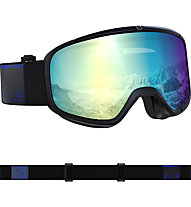 Salomon Four Seven Photo - maschera sci, Black/Blue