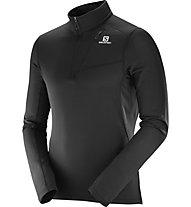 Salomon Grid HZ Mid M - maglia trail running - uomo, Black