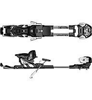 Salomon Guardian WTR 13 L stopper 100 mm - attacco freeride, Light Grey/Black