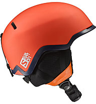 Salomon Hacker - Freeridehelm, Orange
