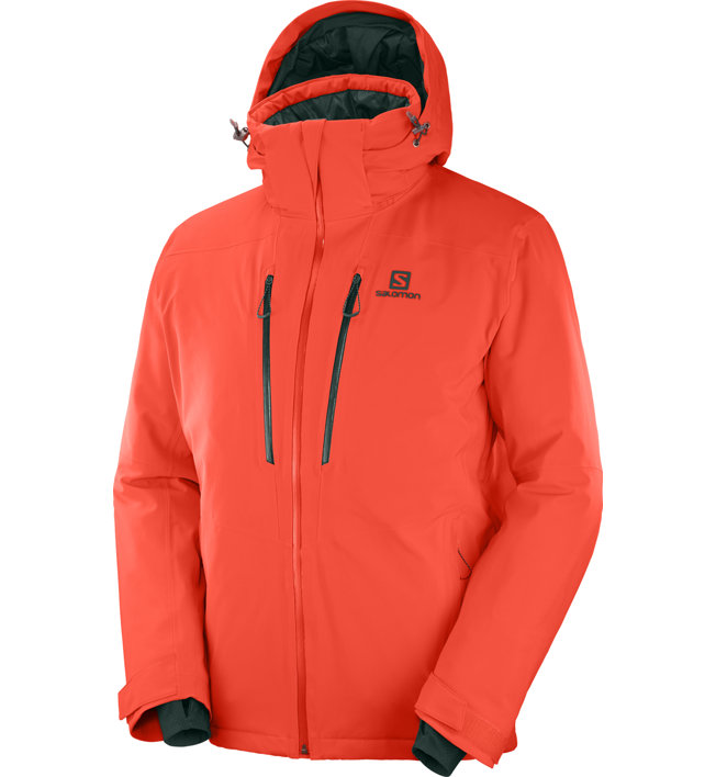 Salomon Icefrost - giacca da sci - uomo, Orange