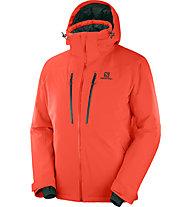 Salomon Icefrost - giacca da sci - uomo, Orange