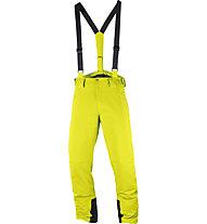 Salomon Iceglory P - pantaloni da sci - uomo, Yellow